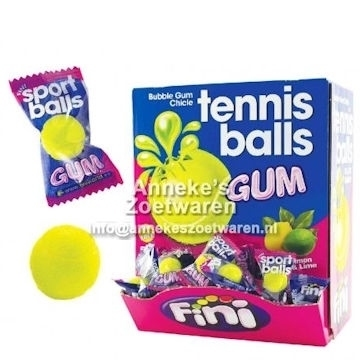 Tennis Ball Gummi  per stuk