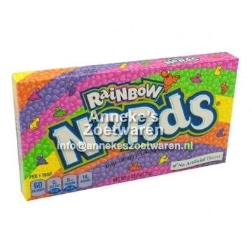 Wonka Nerds, Rainbow  per doosje
