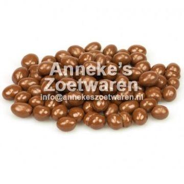 Chocolade Pinda's, melk  per 250 gram