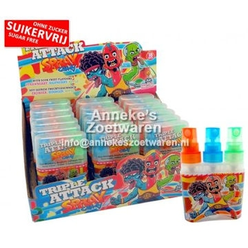 Tripple Attack Candy Spray  per stuk