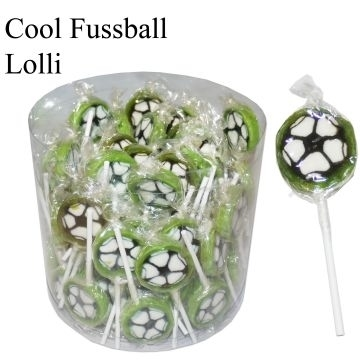 Cool, Voetbal Lolly  per stuk