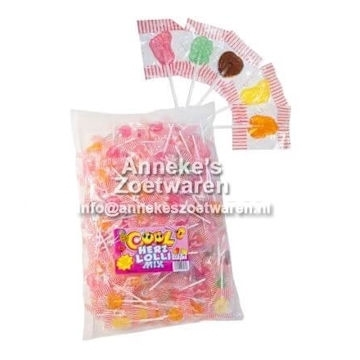 Cool, Hartlolly mix  per stuk