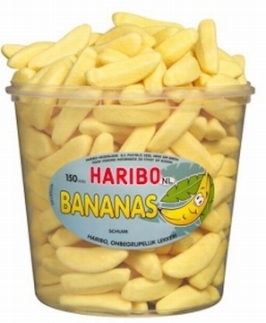 Banane, Schaumzucker  per stuk