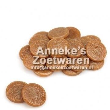 Salmiak-Taler. Altmodischen Salmiak-Riksen von Klene  per 100 gram