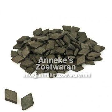 Platte Salmiak (Salmiakpastilles)  per 200 gram