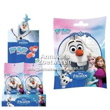Frozen, Olaf Lip Lutscher  per stuk