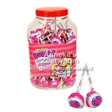 Mister Bubble Knots, Strawberry ( aardbei )  per stuk