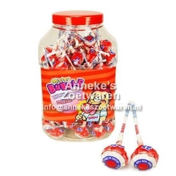 Mister Bubble Knots, Cherry ( kersen )  per stuk