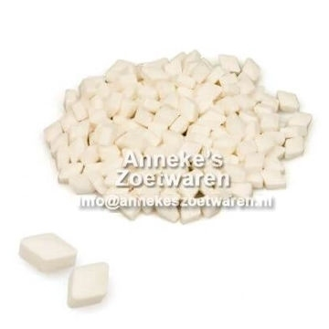 Peppermint Pastille weiß  per 200 gram