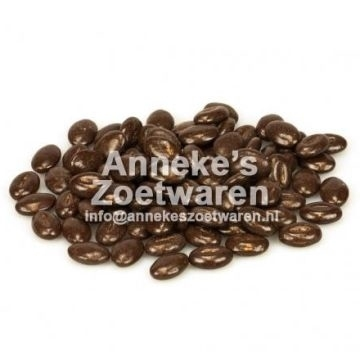 Mokkabohnen, Bitter Schokolade  per 100 gram