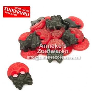 Drop Fruit Skulls, SV  per 200 gram
