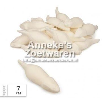 Witte Muizen  per 100 gram