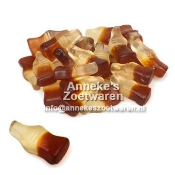 Haribo, Cola Fles klein  per 100 gram