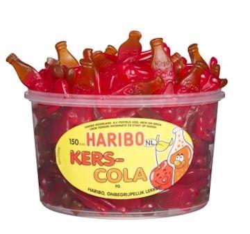Kersen-cola fruitgum  per stuk