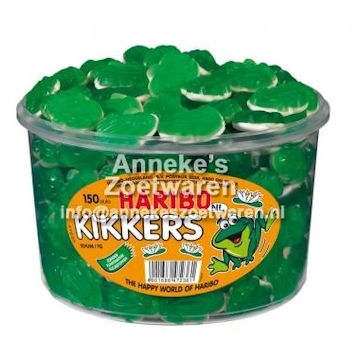 Kikkers (Schuim/fruitgum)  per stuk