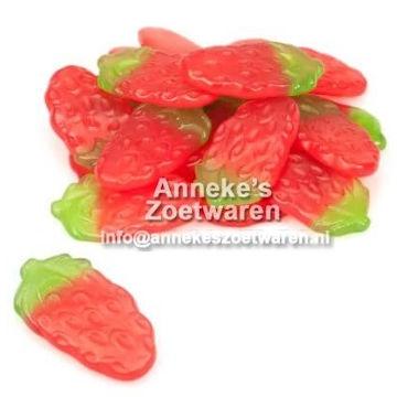 Erdbeeren, Fruchtgummi  per 100 gram