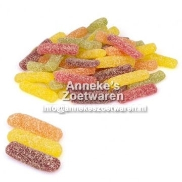 Gummi Stäbchen super sauer