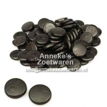Lakritz-Scheiben. Scheibchens  per 100 gram