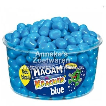 Maoam, Silo Kracher Blue 1200 gr (import)  per stuk