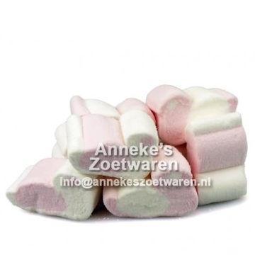 Spekeendjes, Roze en Wit  per 100 gram