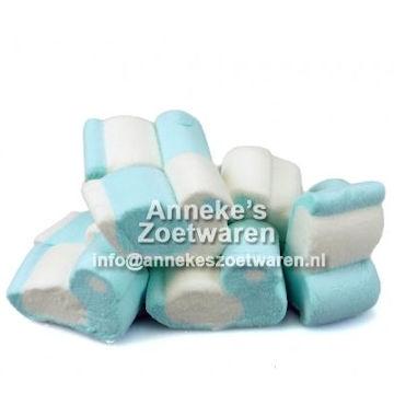 Blaue weiße Speckentlein  per 100 gram