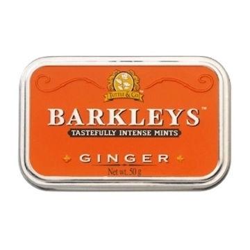 Barkleys Tin,  Ingwer  per doosje