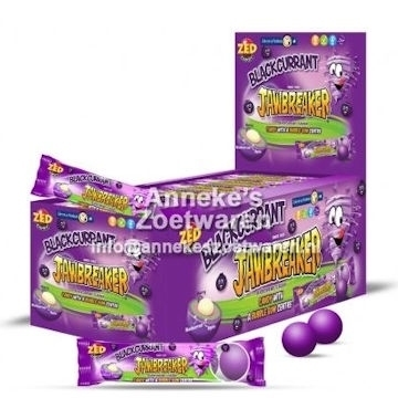 Jawbreaker 5-strip, Blackcurrant  per strip