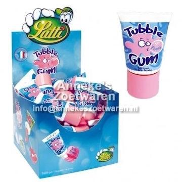 Tubble Gum Fruit ( Rose )  per stuk