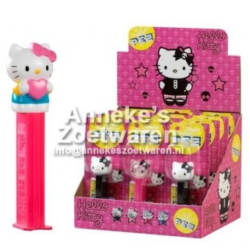 Hello Kitty, PEZ dispencer  per stuk