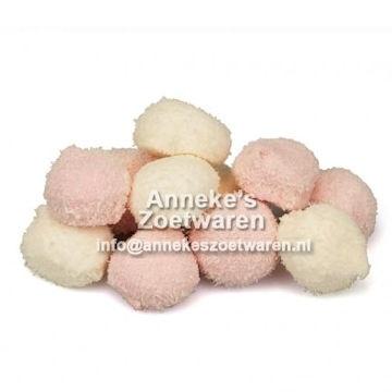 Haribo, Kokosbollen, Cocoballs  per 100 gram