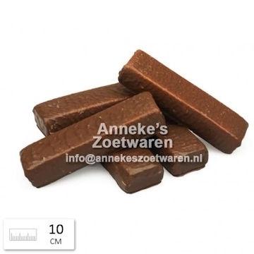 Belgische Schokolade Marshmallows ( Speck) 10 cm  per 100 gram