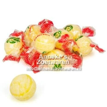 Napoleon, Citroenballen, Lempur  per 100 gram