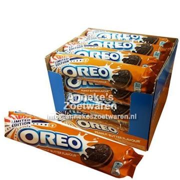 Oreo Roll Peanut Butter 154 gr.  per rol