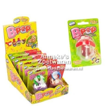 B-pop speen. Lollie met gebit en ring