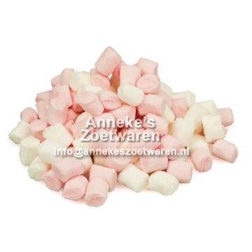 Mini Speck (Mini Marshmallows) rosa und weiß  per 100 gram