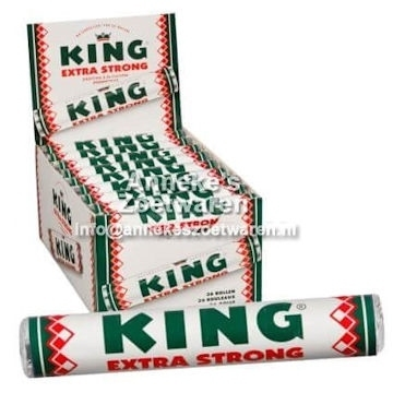 King Extra Strong Pfefferminzrolle