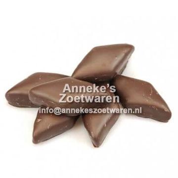 Schokospeck klein, dunkle Schokolade  per 100 gram