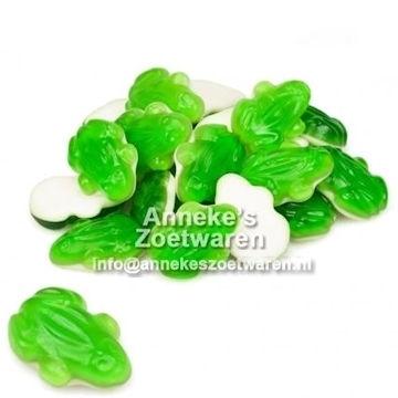 Grüne Frösche  per 100 gram