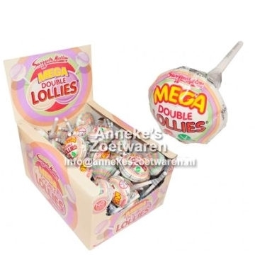 Double Mega Lolly, Swizzels 32 gram  per stuk