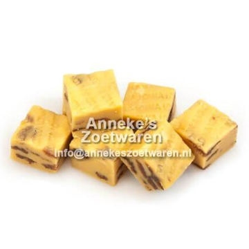Old English Fudge, Weicher Karamell, Rum-Rosinen  per 100 gram