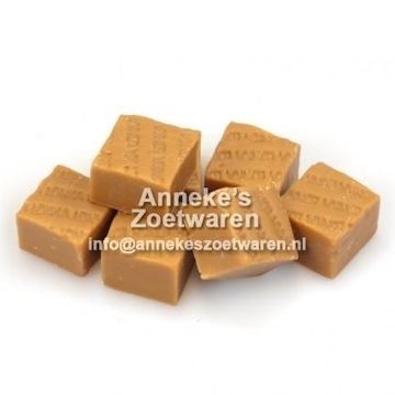 Old English Fudge, Weicher Karamell, Cappuccino  per 100 gram