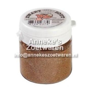 Schwarz-Weiß-Pulver, Salz, Van Vliet