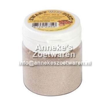 Schwarz-Weiß-Pulver süß, Van Vliet