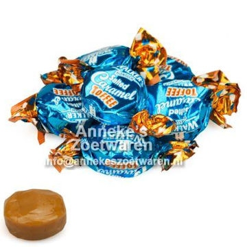 Walkers, Caramel Seasalt Toffees