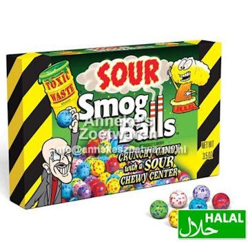 Toxic Waste Souer Smog Balls 48 gr