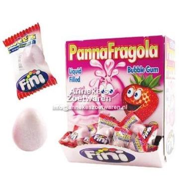 Fini, Gum, Panna Fragola, Aardbei