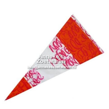PP-lbeutel 250 Gramm, Orange/Rot
