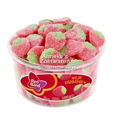 Erdbeeren gezuckert  per stuk