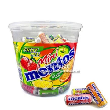 Mentos, Mini rolletjes
