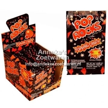 Knettersnoep, Pop Rocks , Aardbei